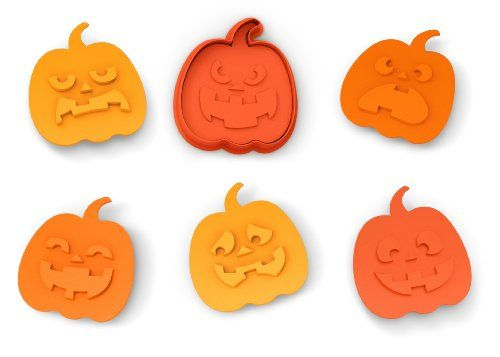 SNACK-O-LANTERN Cookie Cutter/Stampers, Set of 5 Fred http://smile.amazon.com/dp/B00JDRDOHC/ref=cm_sw_r_pi_dp_TpFfub1G85AG2