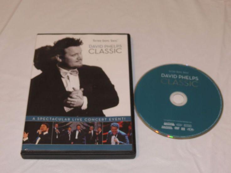 Gaither Gospel Series David Phelps Classic RARE DVD live concert event!