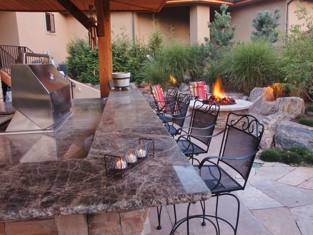 WRONA OUTDOOR KITCHEN FIREPITDining Room, Firepit Grilled, Decor Ideas, Outdoor Living, Dreams Backyards, Outdoor Kitchens Firepit, Backyards Ideas, Outdoor Spaces, Fire Pit