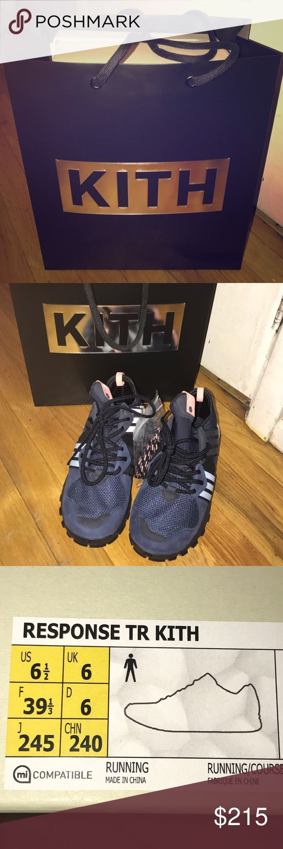 """Adidas RESPONSE TR KITH """"KITH ASPEN"""" Purchased the shoe item in Kith Manhattan Raffle with good condition, never worn. Adidas Shoes Sneakers"""