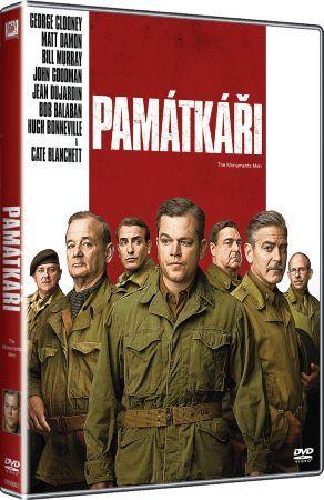 Film Památkáři na DVD / The Monuments Men dvd