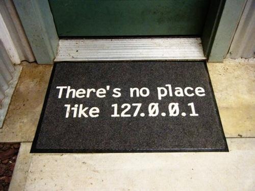 IP address door mat.