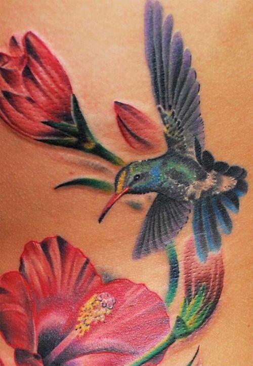 3c7464296 hummingbird tattoo - Google Search   Erin's tattoo   Hummingbird tattoo, Flower  tattoos, Hummingbird flower tattoos