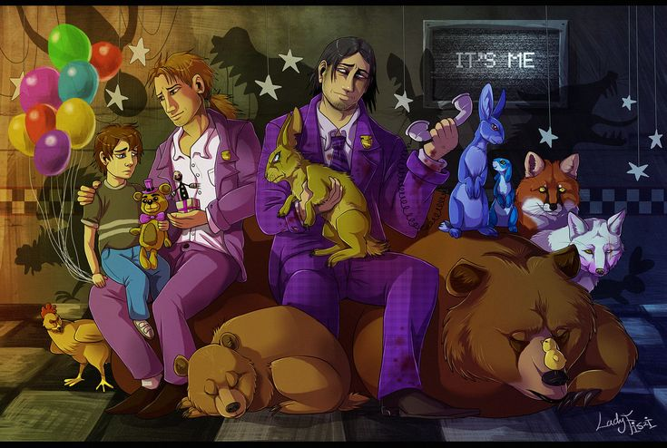 All FNAF characters in realistic style by LadyFiszi.deviantart.com on @DeviantArt