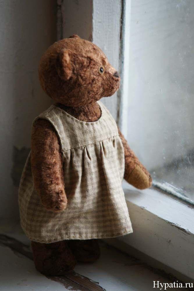 Плюшевый мишка тедди. Old teddy bear.