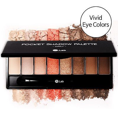 W.Lab Pocket Eye Shadow Palette For Daily (8 Colors)