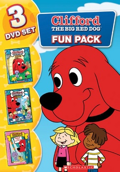 Clifford The Big Red Dog: Fun Pack DVD