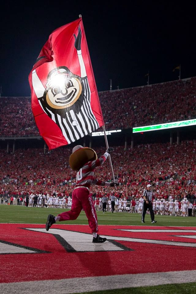 Brutus!!! #OhioStateNut The Ohio State University Buckeyes!
