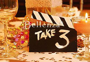 Tickets, Please - It's a Hollywood Theme Wedding Shower!