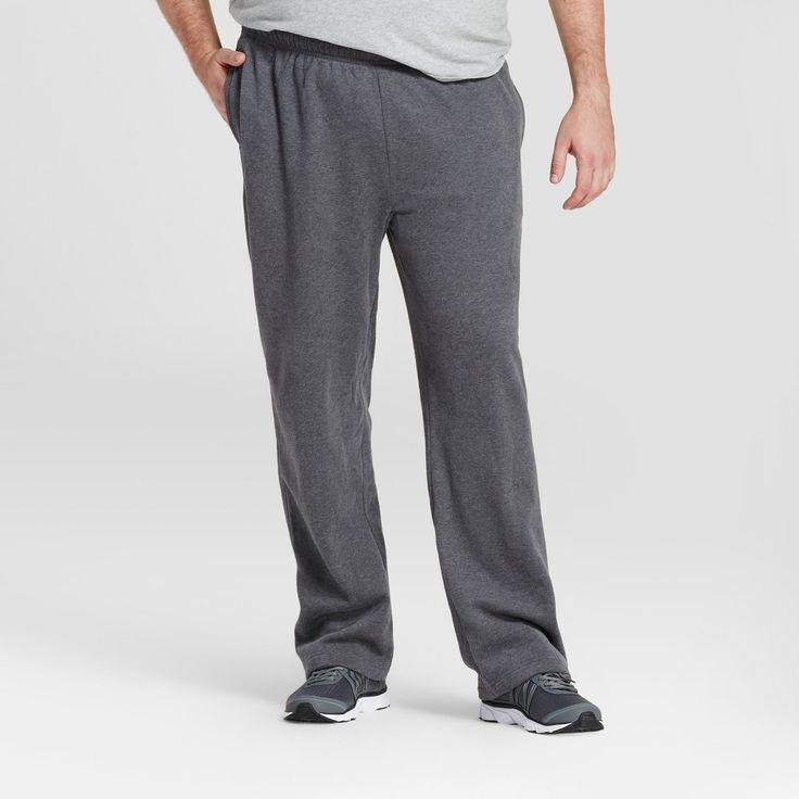 Men's Fleece Pants - C9 Champion - Charcoal Gray Heather M x 36