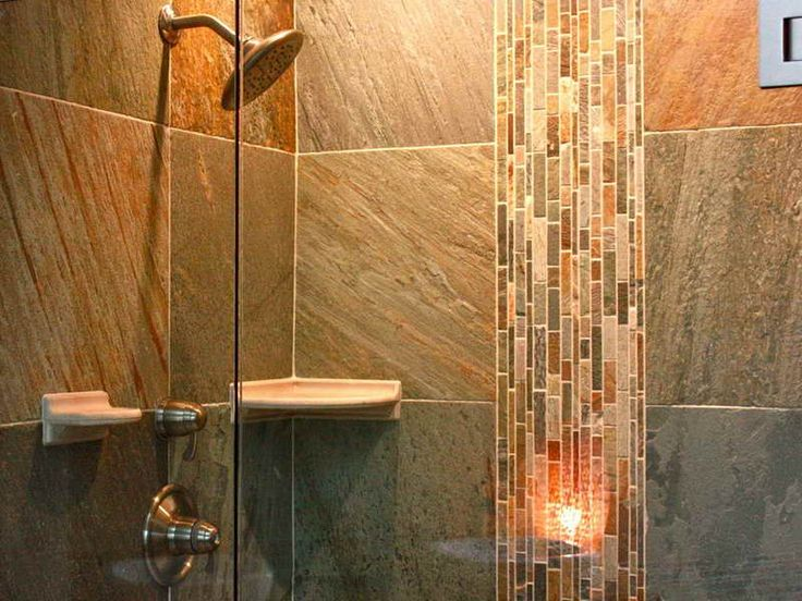 Remodeled Bathrooms With Showers 29 best love slate! images on pinterest | bathroom ideas, bathroom