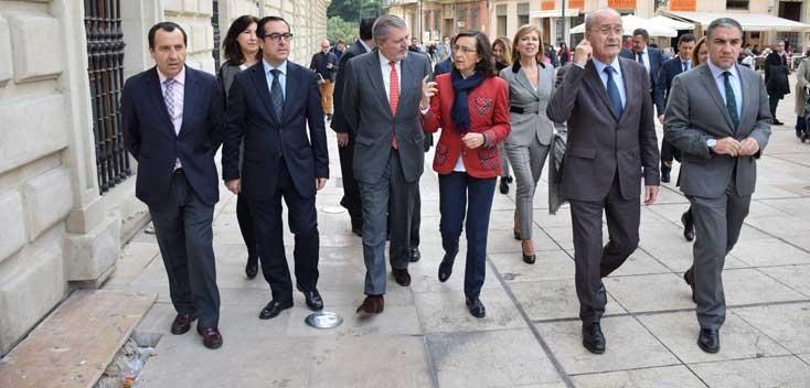 El ministro de Educación, Cultura y Deporte visita la sede del Museo de Málaga