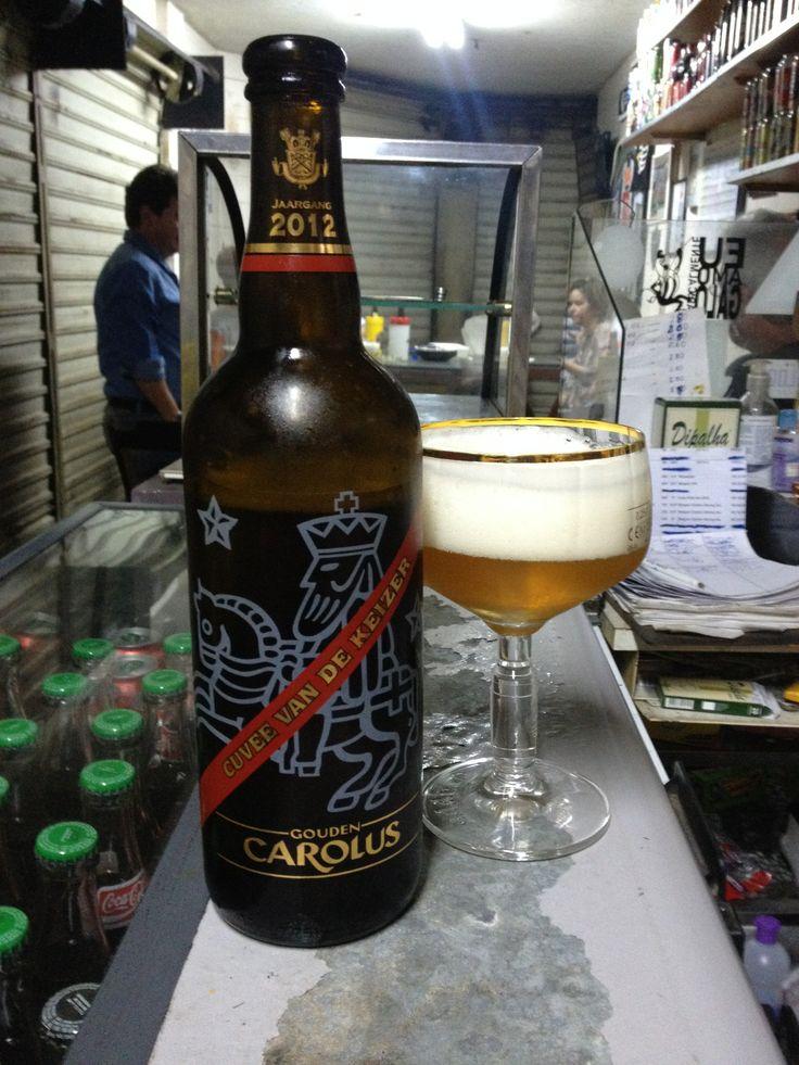 Gouden Carolus Cuvee Van de Keizer Rood - Belgian Strong Ale de 10º ABV, fabricada por Brouwerij Het Anker (Bélgica).