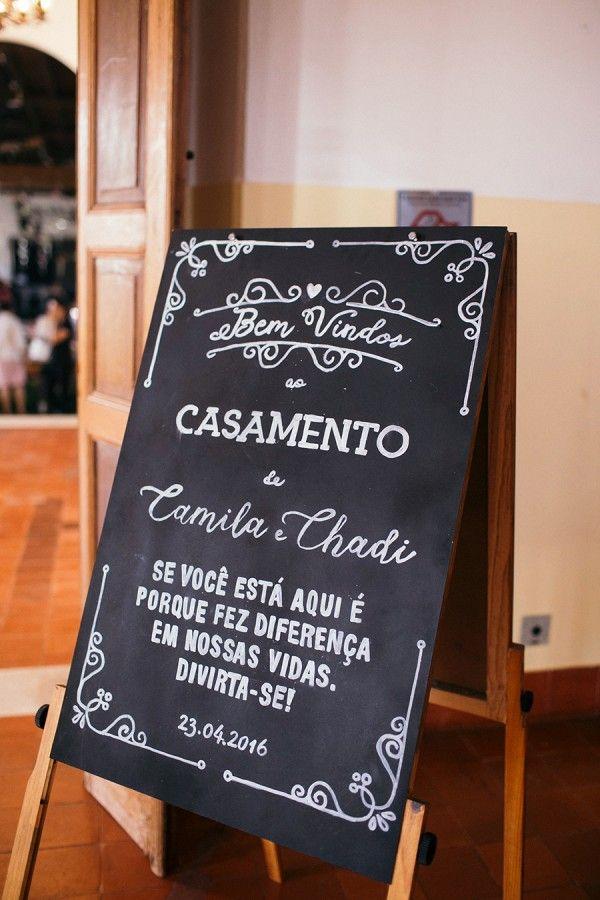 Casamento Rústico/Romântico na Fazenda – Camila