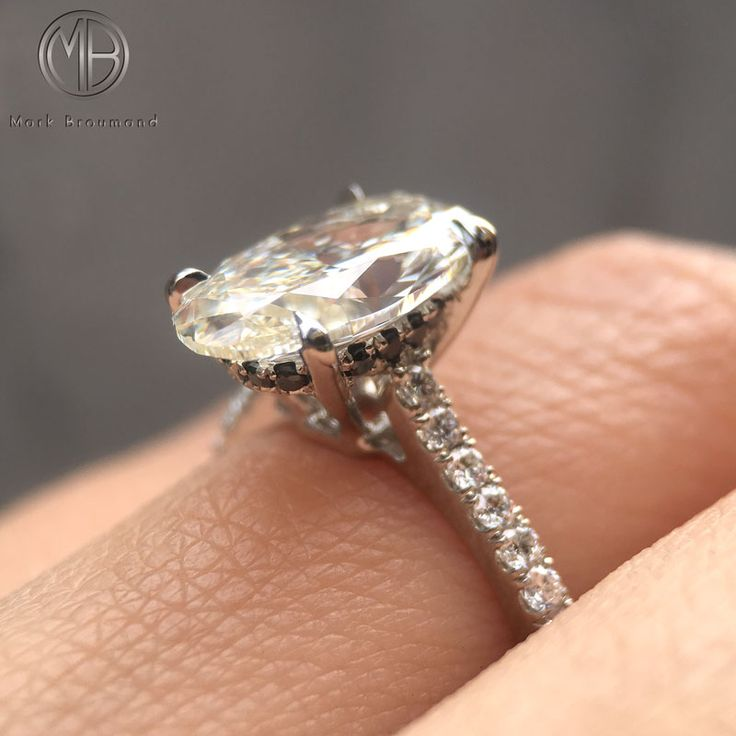 56 best Oval Cut Engagement Rings images on Pinterest