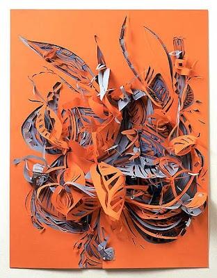 paper sculpture for art class