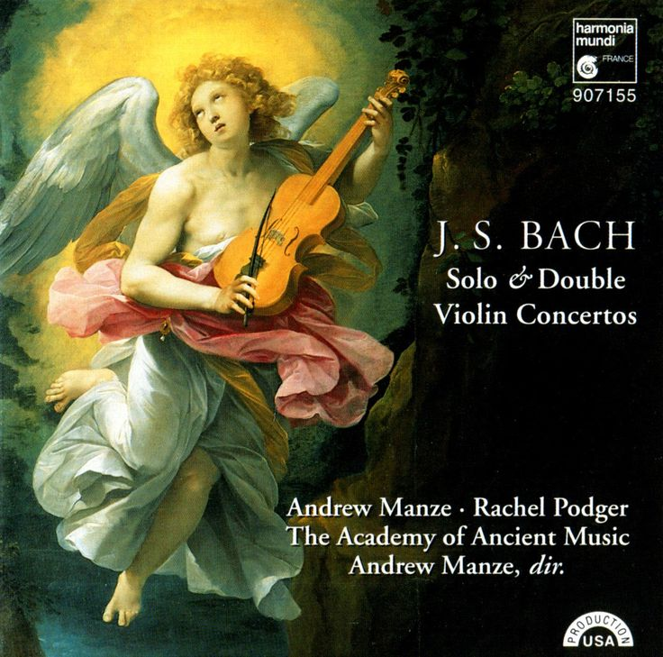 J.S. Bach: Solo & Double Violin Concertos, with Andrew Manze, Rachel Podger and The Academy of Ancient Music - YouTube