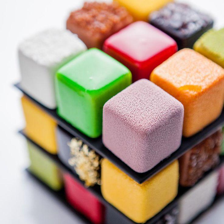 Le Rubik's cake du Meurice