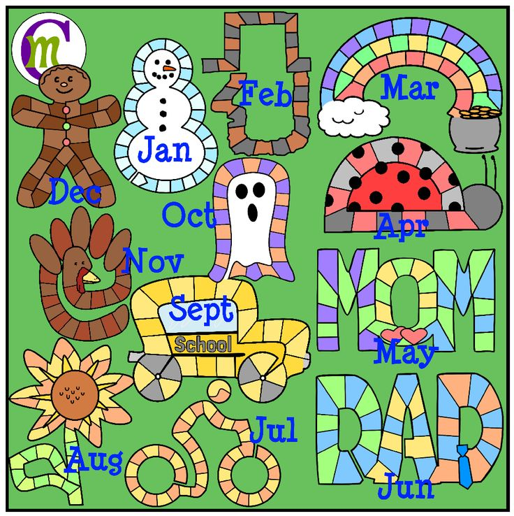 Calendar Clipart For Teachers : Best classroom calendar ideas images on pinterest