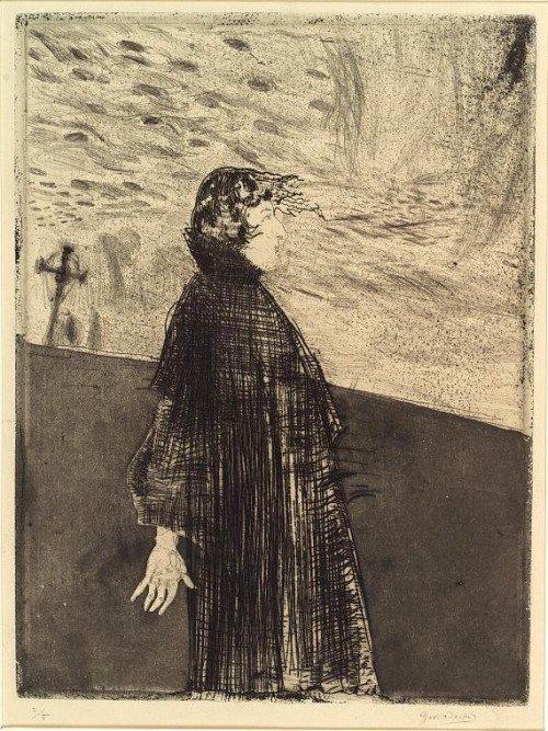 Frédéric Chopin by Gustaw Gwozdecki