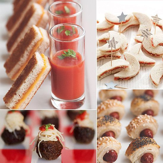 bite size baby shower appetizers