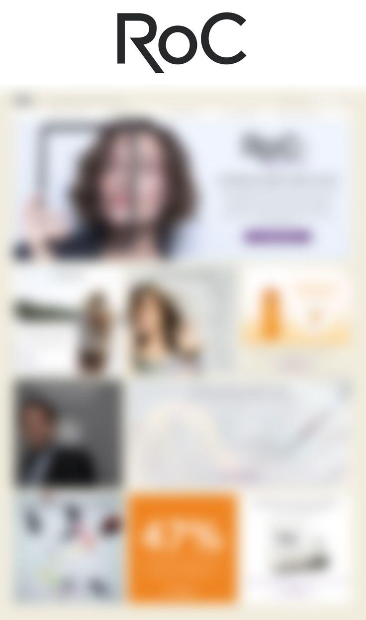 ROC Cosmetics Ce projet n'est pas encore sorti Brief: Comment fidéliser la base de clientes + de 35 ans Roc ?  Conception en binome avec Esther Maarek. Agence : Publicis K1