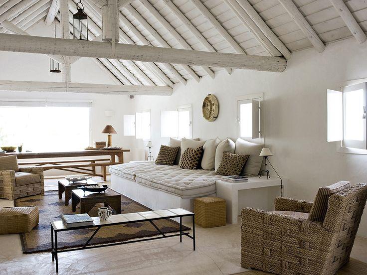 Jacques grange 39 s iconic portuguese beach house with john - Jacques grange architecte d interieur ...