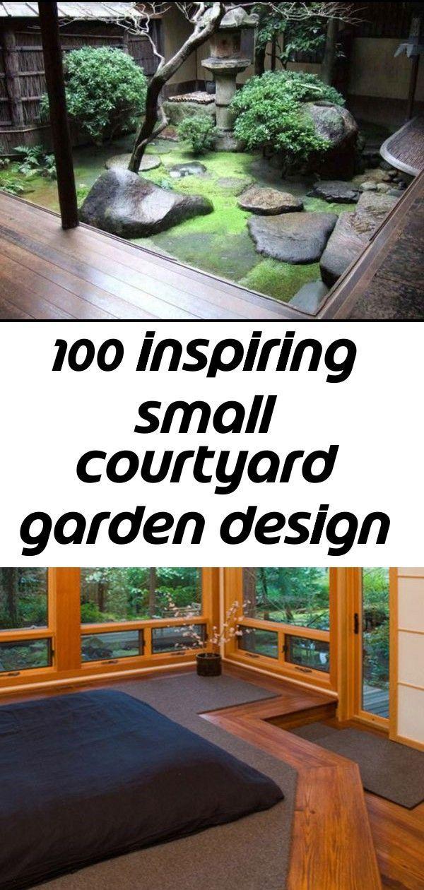 100 Inspiring Small Courtyard Garden Design Ideas 4 Smallcourtyardgardens 77 Inspiring Small Courtyard Gardens Design Small Courtyard Gardens Small Courtyards