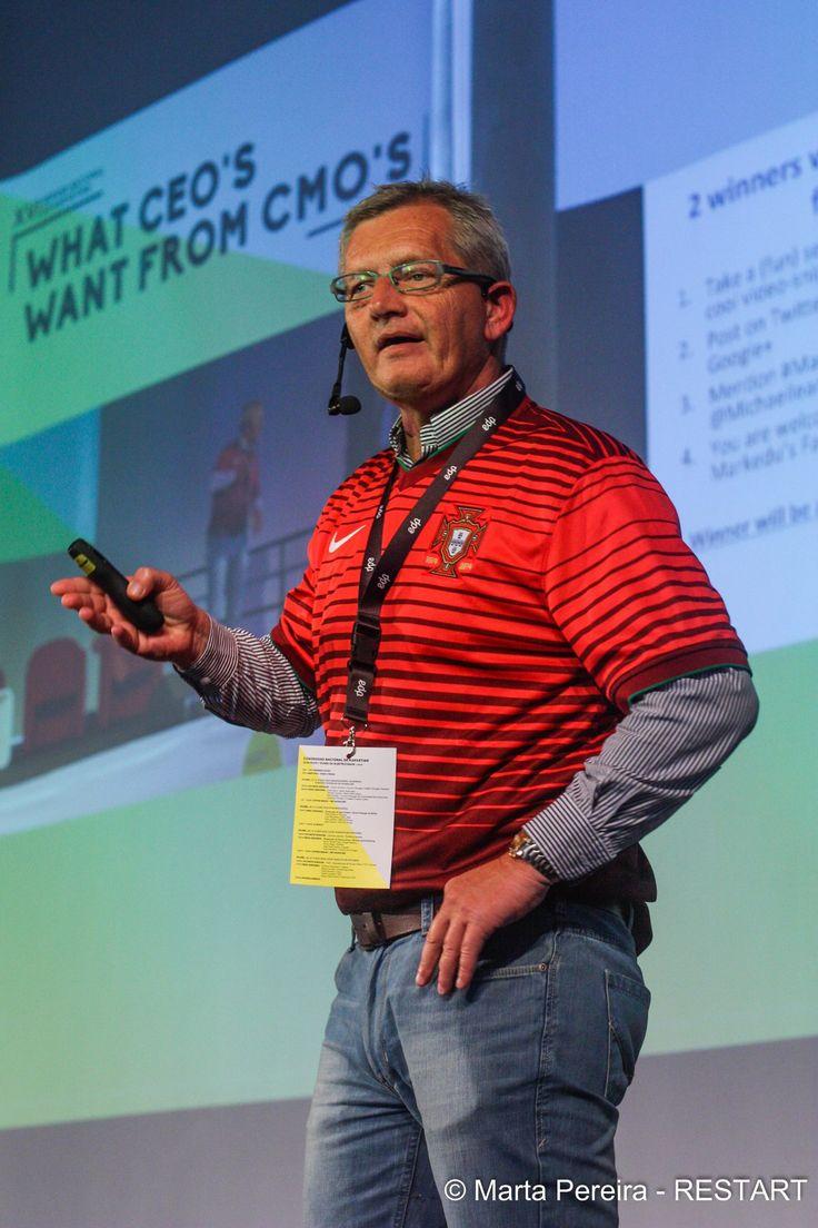Michael Leander speaking