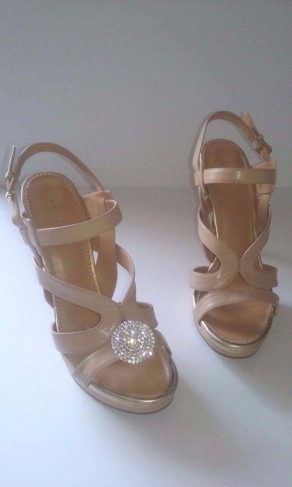 1 pr BLINGit NEW Rhinestone Shoe Jewelry Charm Round Pave heels flip flop