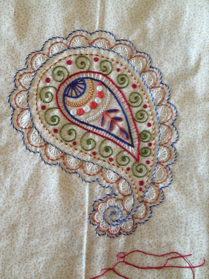 1000 Images About Paisley On Pinterest Hand Embroidery