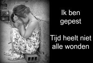 Hartverscheurend verhaal van een lezeres.  landelijke week tegen pesten, pesten, gepest, tijd heelt niet alle wonden, opvoeding, moederschap, eerstehulpbijmoederschap.nl