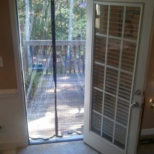 Miracle Mesh Screen Door