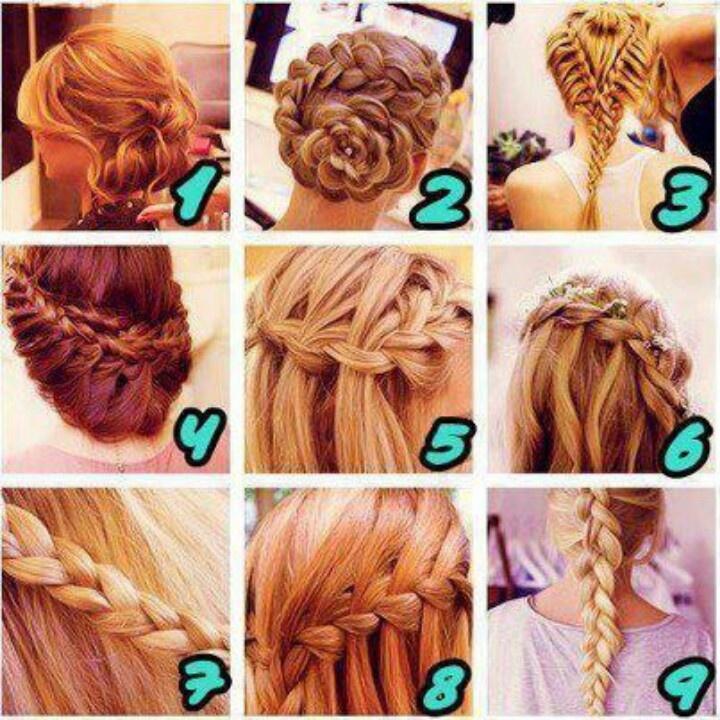 Different Braids Peinados Pinterest Cabello Y Peinados