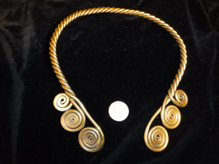 Triple-Strand Twisted Torc