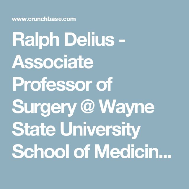 9 best onchocerciasis drs images on pinterest anatomy anatomy ralph delius associate professor of surgery wayne state university school of medicine crunchbase malvernweather Image collections