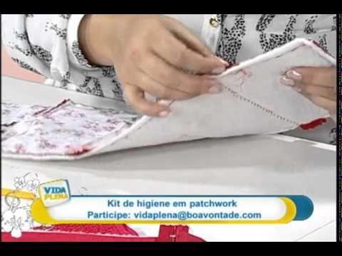 Kit de higiene bucal - por Renata Herculano - YouTube                                                                                                                                                                                 Mais