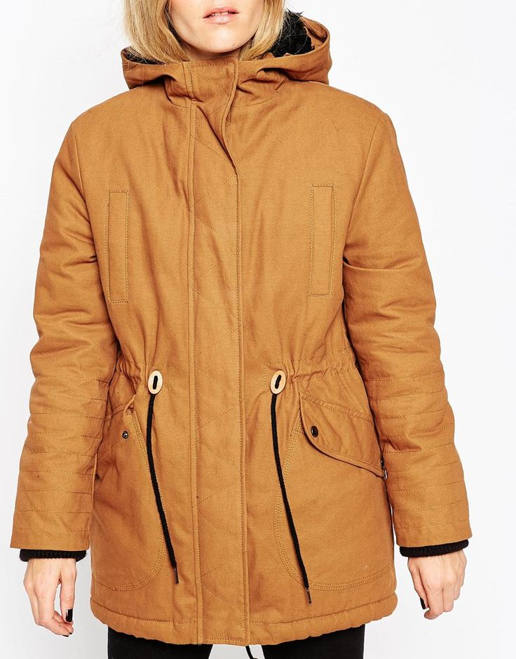 Image 3 of ASOS Parka In Cocoon Fit