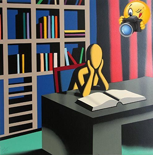 Serigraph by the American #artist Mark Kostabi, from 2001, is a conceptual work in the #artist's characteristic style. Signed and numbered in pencil. Edition: 250...
