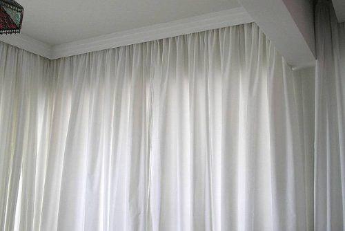 cortina de voal branco para cortinheiro - Pesquisa Google