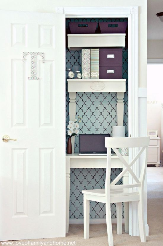 Organize This: Small Office Nooks!