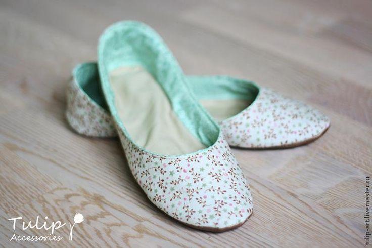 Cosa zapatillas, zapatillas de ballet para la casa - Masters - Feria artesanal, hecho a mano