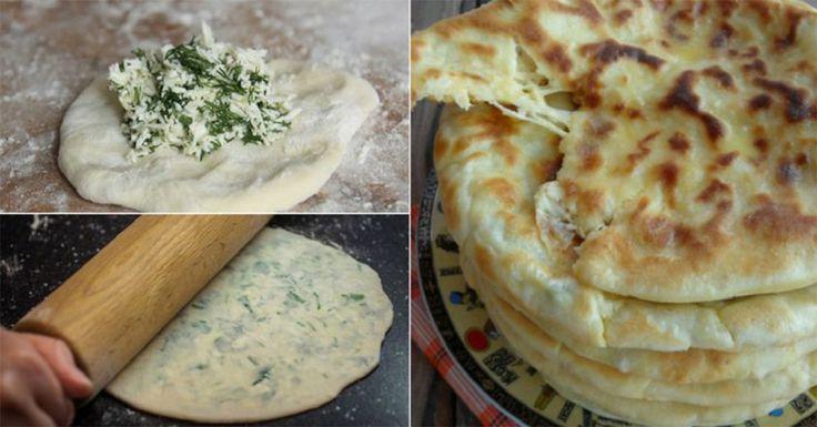 """Vă prezentăm o rețetă de plăcințele delicioase.""""Hicin"""" este o rețetă tradițională a bucătăriei caucaziene de Nord și reprezintă niște plăcințele din aluat subțire, umplute cu brânză și verdeață. La fel, se întâlnesc astfel de plăcințele caucaziene și cu umplutură din carne sau cartofi cu brânză. Bucurați-i pe cei dragi cu o gustare caldă delicioasă și …"""