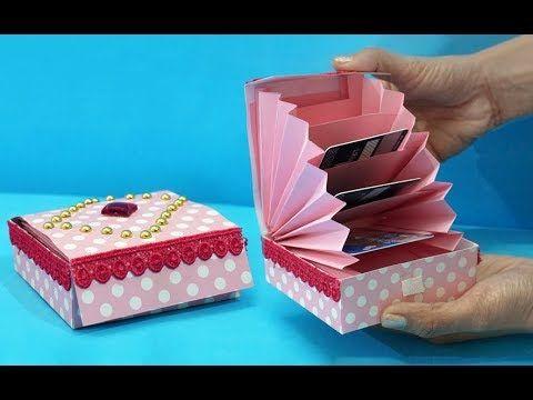 Diy Paper Crafts Easy Magic Paper Gift Box Diy Accordion