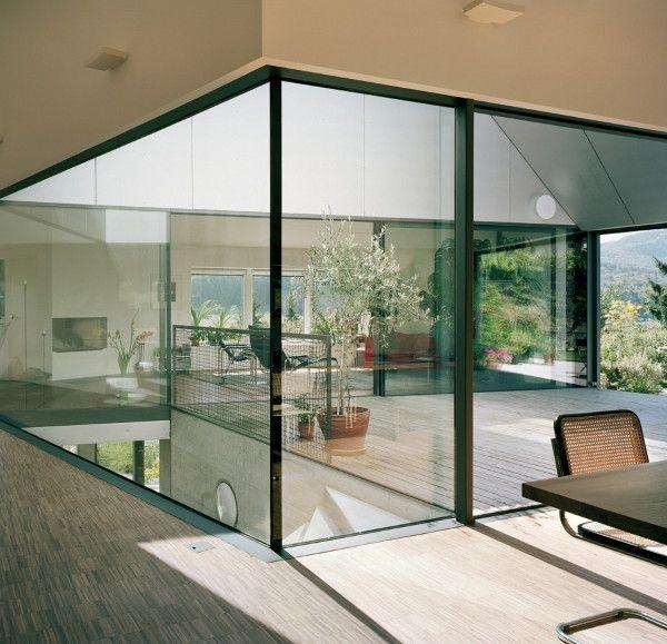 Interior Courtyard Garden Home: Courtyards, Switzerland And Interiors On Pinterest