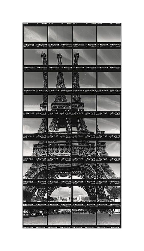 Thomas Kellner - Photography in Art: Paris, Tour Eiffel.