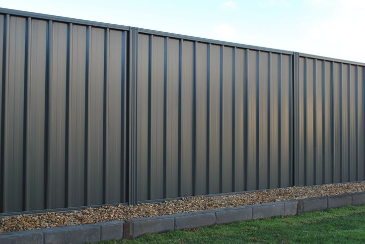 Double Side 18m Smooth Cream Steel Fencing Panel Tl32dsdo