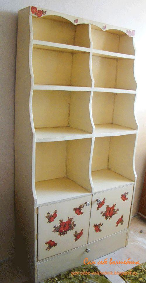 Кухонный стеллаж из картона своими руками