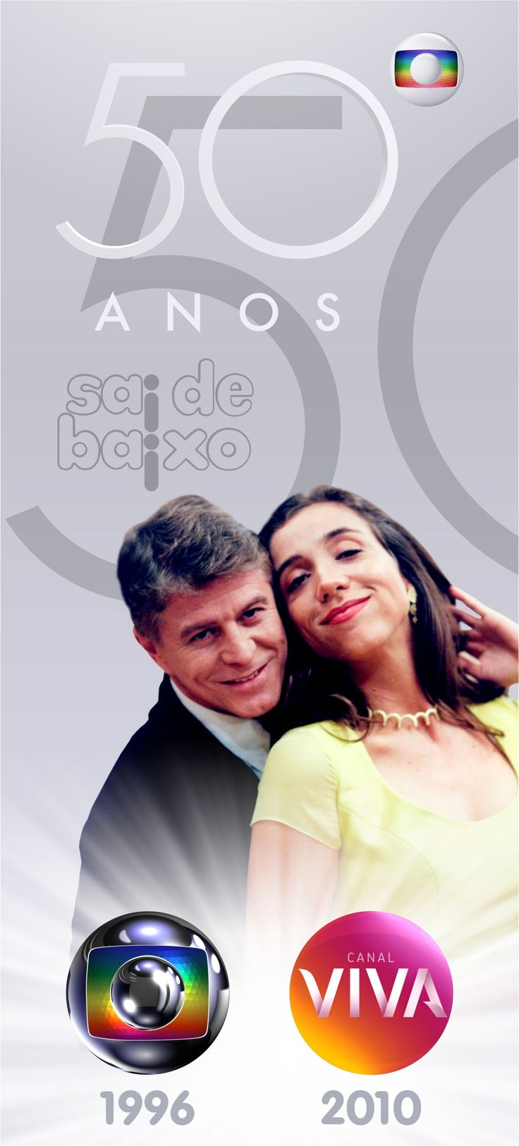 Sai de Baixo - Globo 50 Anos - Canal Viva