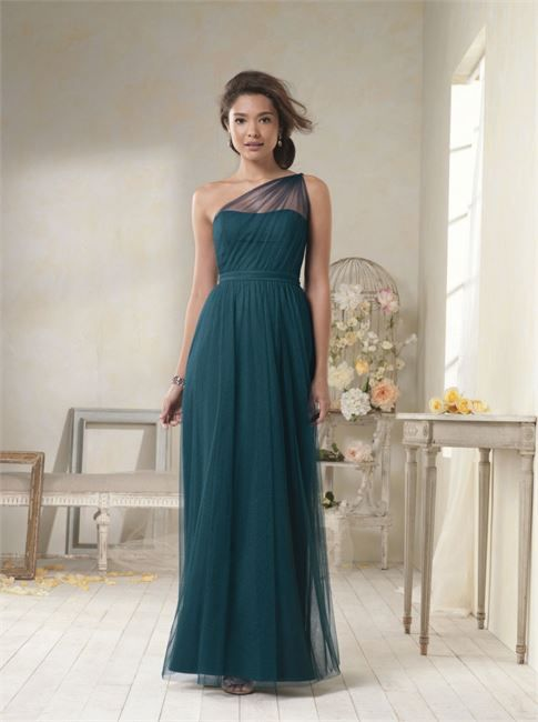 Bridesmaids Dresses by Alfred Angelo Bridesmaid - emerald color